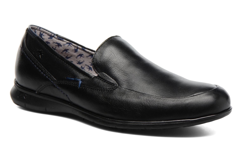 Loafers Fluchos Nelson 9762 Blå detaljerad bild på paret