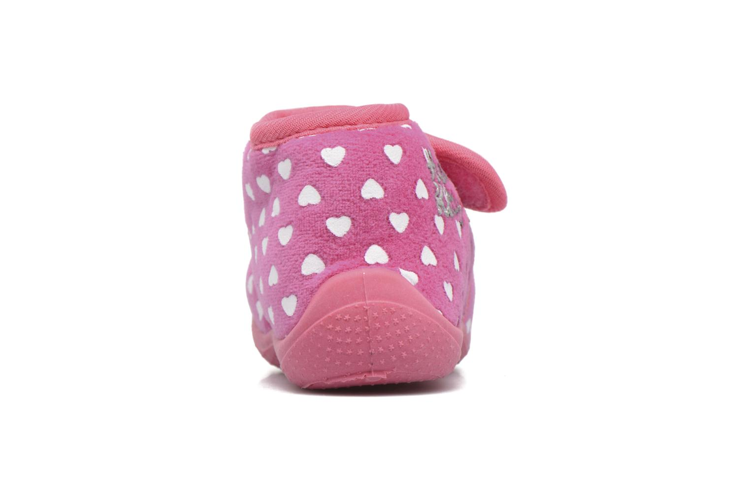 Chaussons Hello Kitty Hk Lalie Rose vue droite