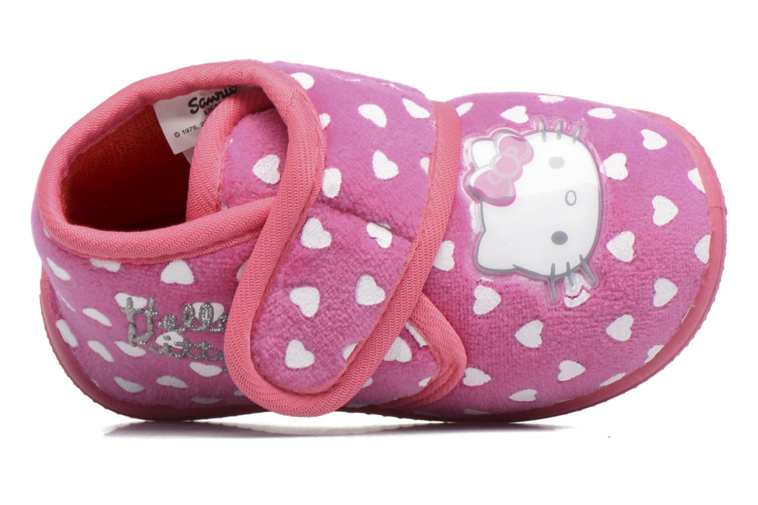 Chaussons Hello Kitty Hk Lalie Rose vue gauche