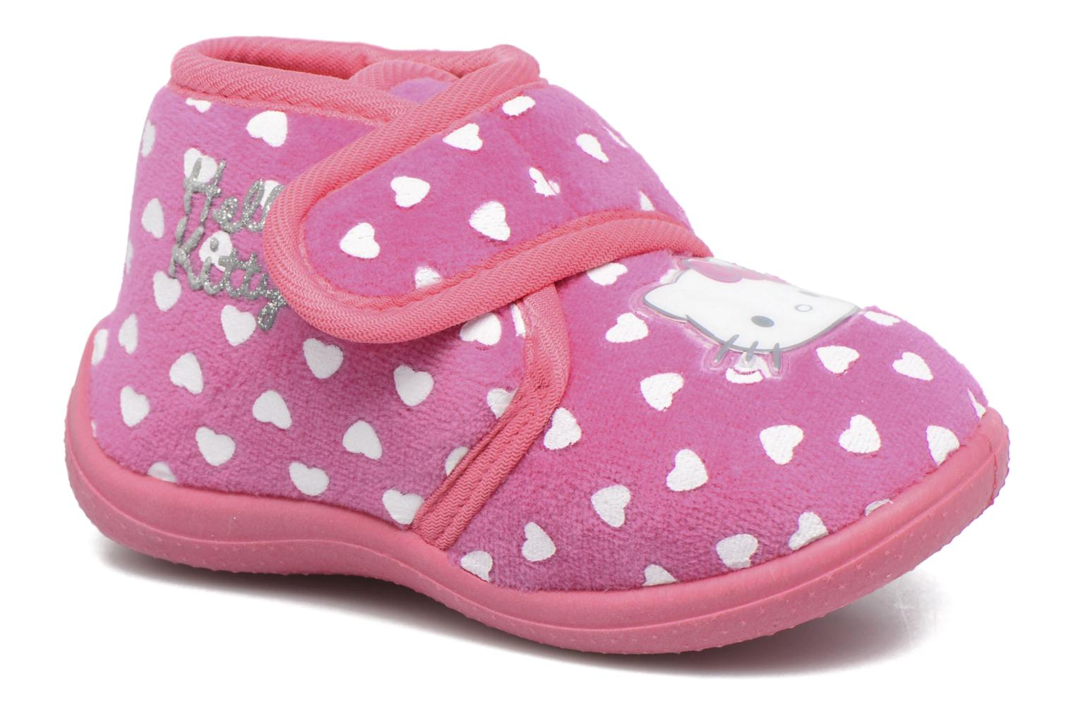 Chaussons Hello Kitty Hk Lalie Rose vue détail/paire