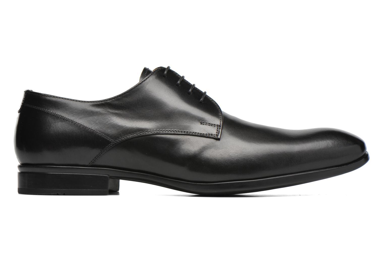 Snörade skor Doucal's OSCAR Vichy Svart bild från baksidan