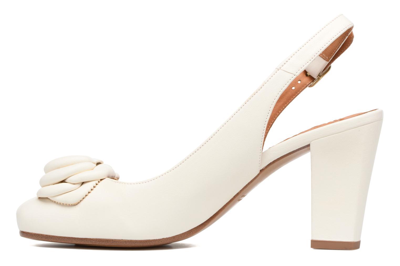 Sandales et nu-pieds Chie Mihara Bri Ripon Blanc vue face
