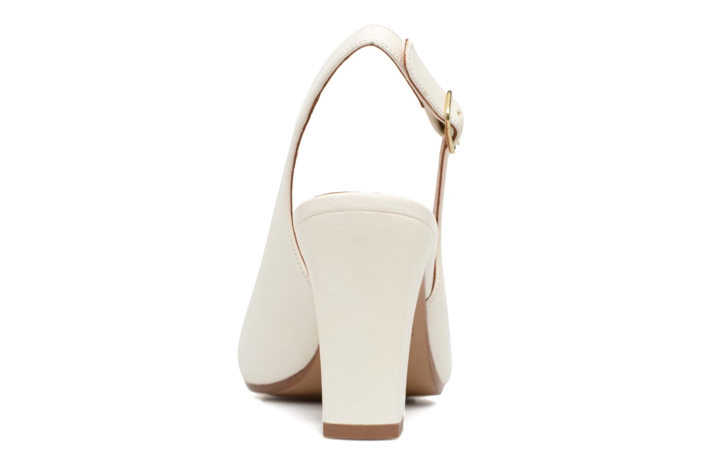 Sandales et nu-pieds Chie Mihara Bri Ripon Blanc vue droite