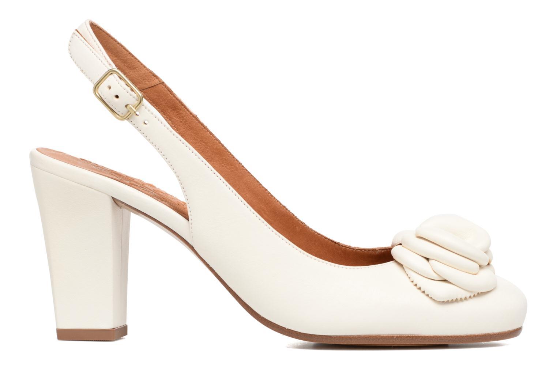 Sandales et nu-pieds Chie Mihara Bri Ripon Blanc vue derrière