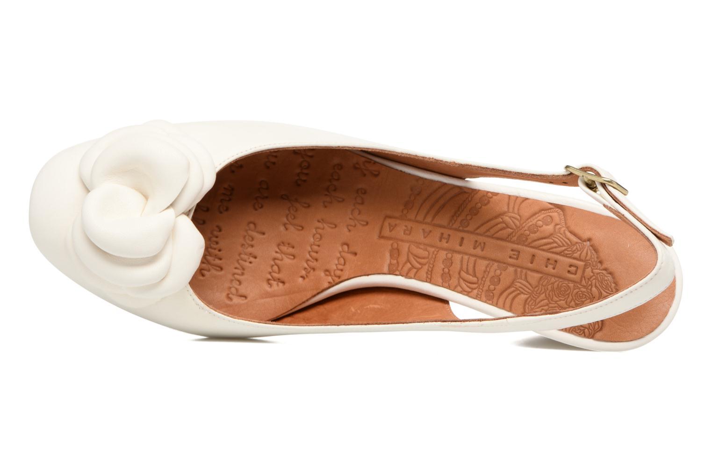 Sandales et nu-pieds Chie Mihara Bri Ripon Blanc vue gauche