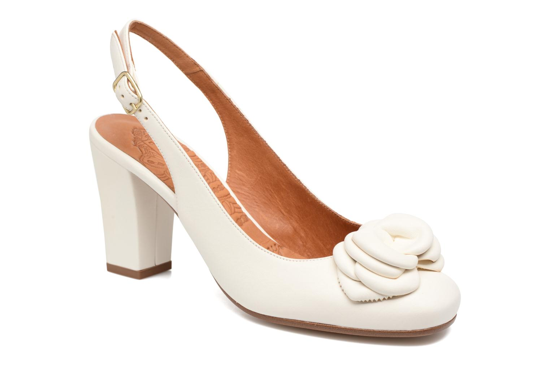 Sandales et nu-pieds Chie Mihara Bri Ripon Blanc vue détail/paire