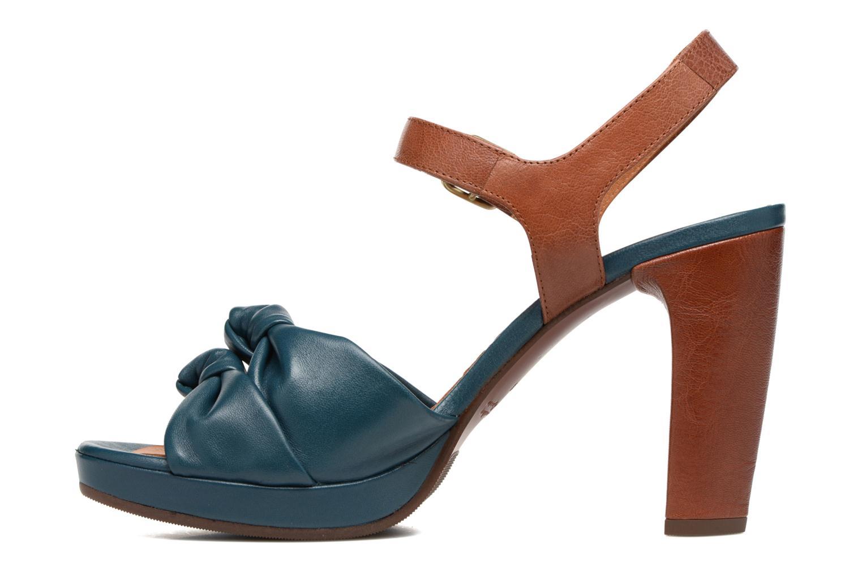 Sandales et nu-pieds Chie Mihara Champan Bleu vue face