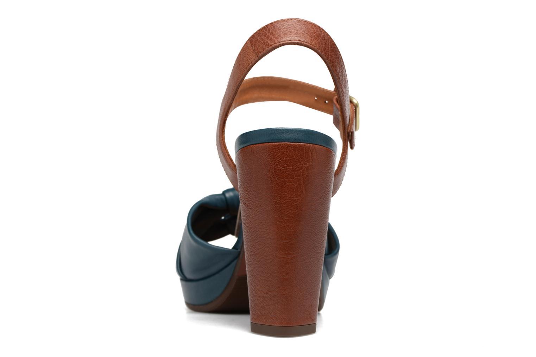 Sandales et nu-pieds Chie Mihara Champan Bleu vue droite