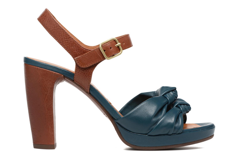Sandales et nu-pieds Chie Mihara Champan Bleu vue derrière