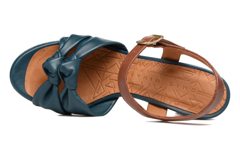 Sandales et nu-pieds Chie Mihara Champan Bleu vue gauche