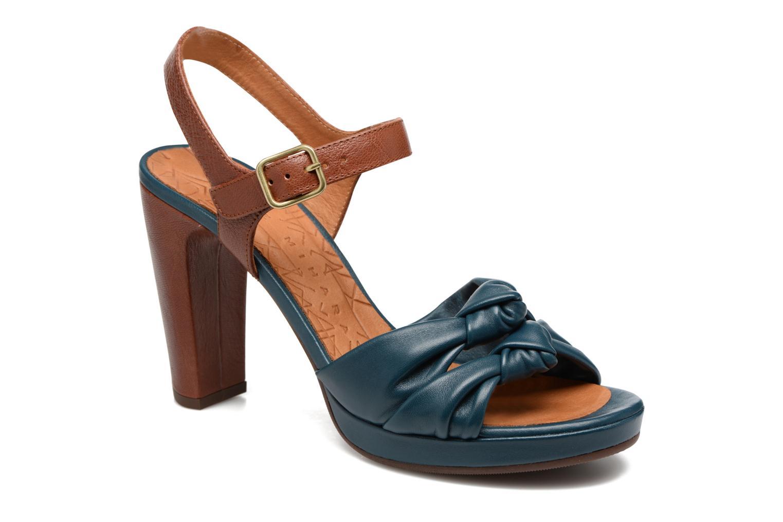 Sandales et nu-pieds Chie Mihara Champan Bleu vue détail/paire