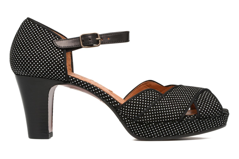 Sandales et nu-pieds Chie Mihara Isy-C Noir vue derrière