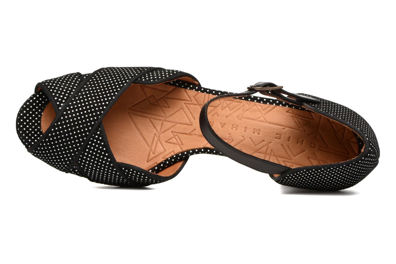 Sandales et nu-pieds Chie Mihara Isy-C Noir vue gauche