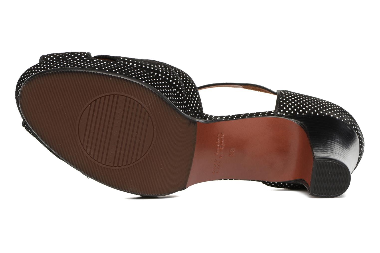 Sandales et nu-pieds Chie Mihara Isy-C Noir vue haut