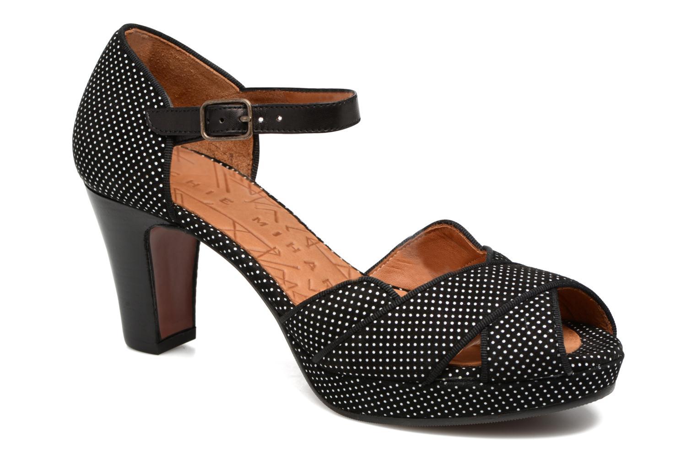 Sandales et nu-pieds Chie Mihara Isy-C Noir vue détail/paire
