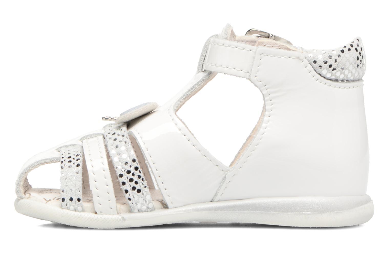Sandales et nu-pieds Bopy Zafa Blanc vue face