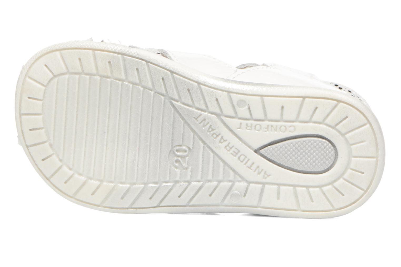 Sandales et nu-pieds Bopy Zafa Blanc vue haut