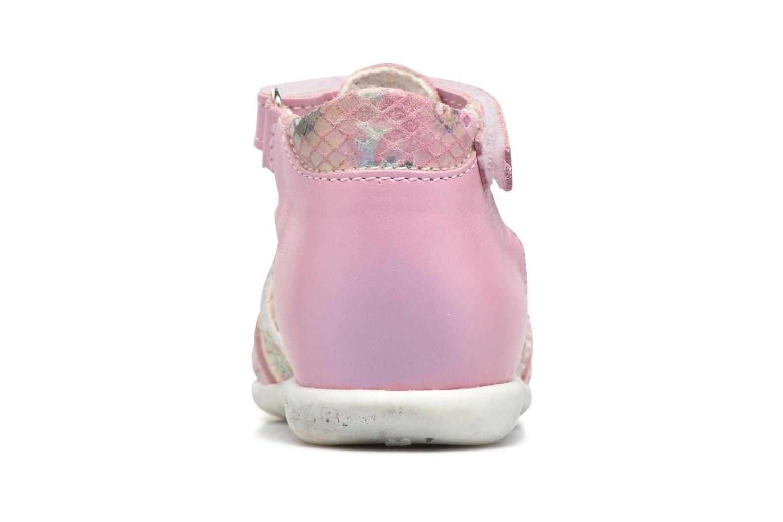 Sandales et nu-pieds Bopy Zocara Rose vue droite