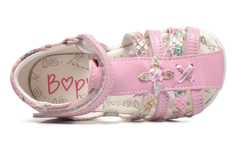 Sandales et nu-pieds Bopy Zocara Rose vue gauche