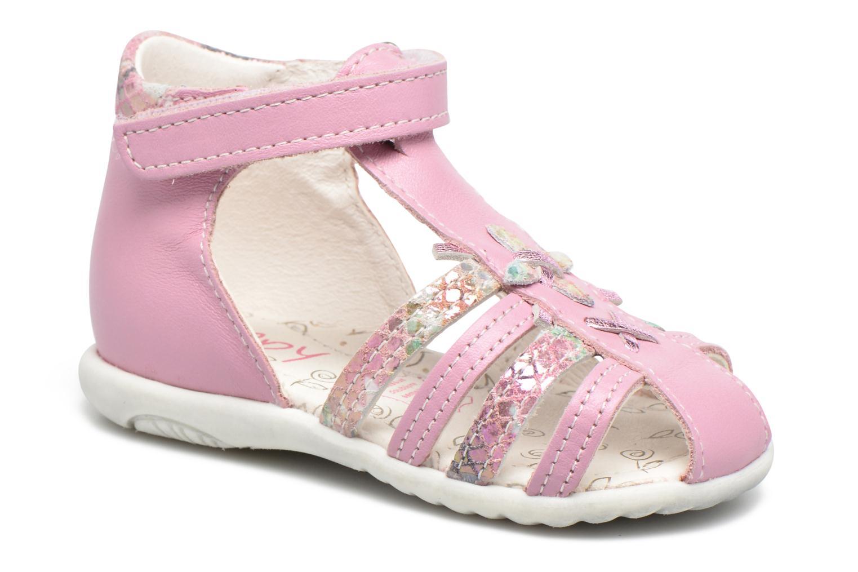 Sandales et nu-pieds Bopy Zocara Rose vue détail/paire