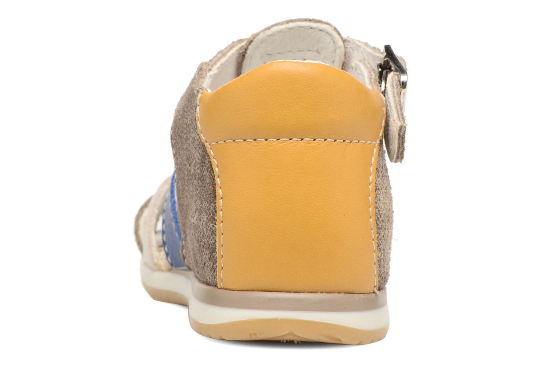 Sandales et nu-pieds Bopy Zinedine Marron vue droite