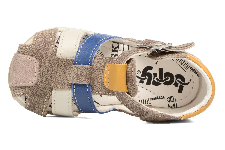 Sandales et nu-pieds Bopy Zinedine Marron vue gauche