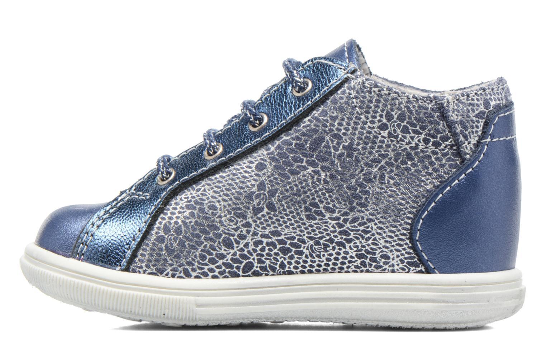 Lace-up shoes Bopy Zental Blue front view