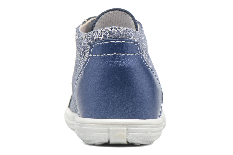 Schnürschuhe Bopy Zental blau ansicht von rechts
