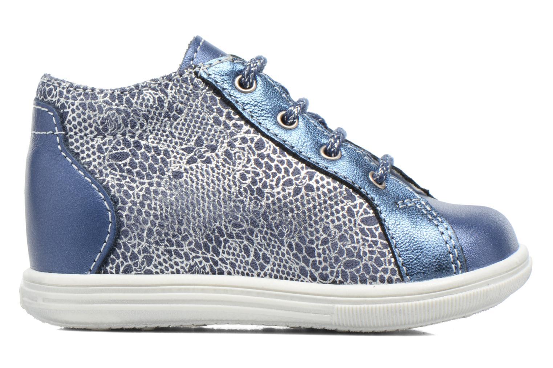 Lace-up shoes Bopy Zental Blue back view
