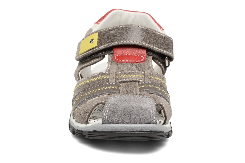 Sandales et nu-pieds Bopy Ebriac Gris vue portées chaussures