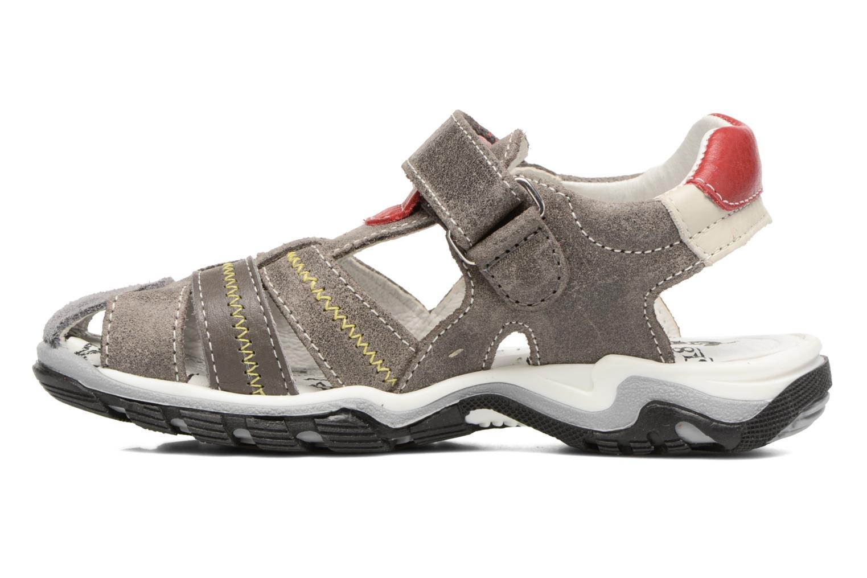 Sandali e scarpe aperte Bopy Ebriac Grigio immagine frontale