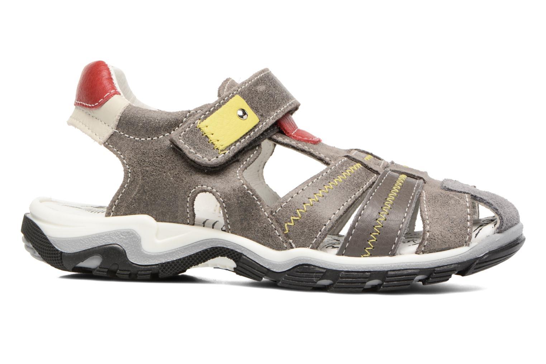 Sandali e scarpe aperte Bopy Ebriac Grigio immagine posteriore