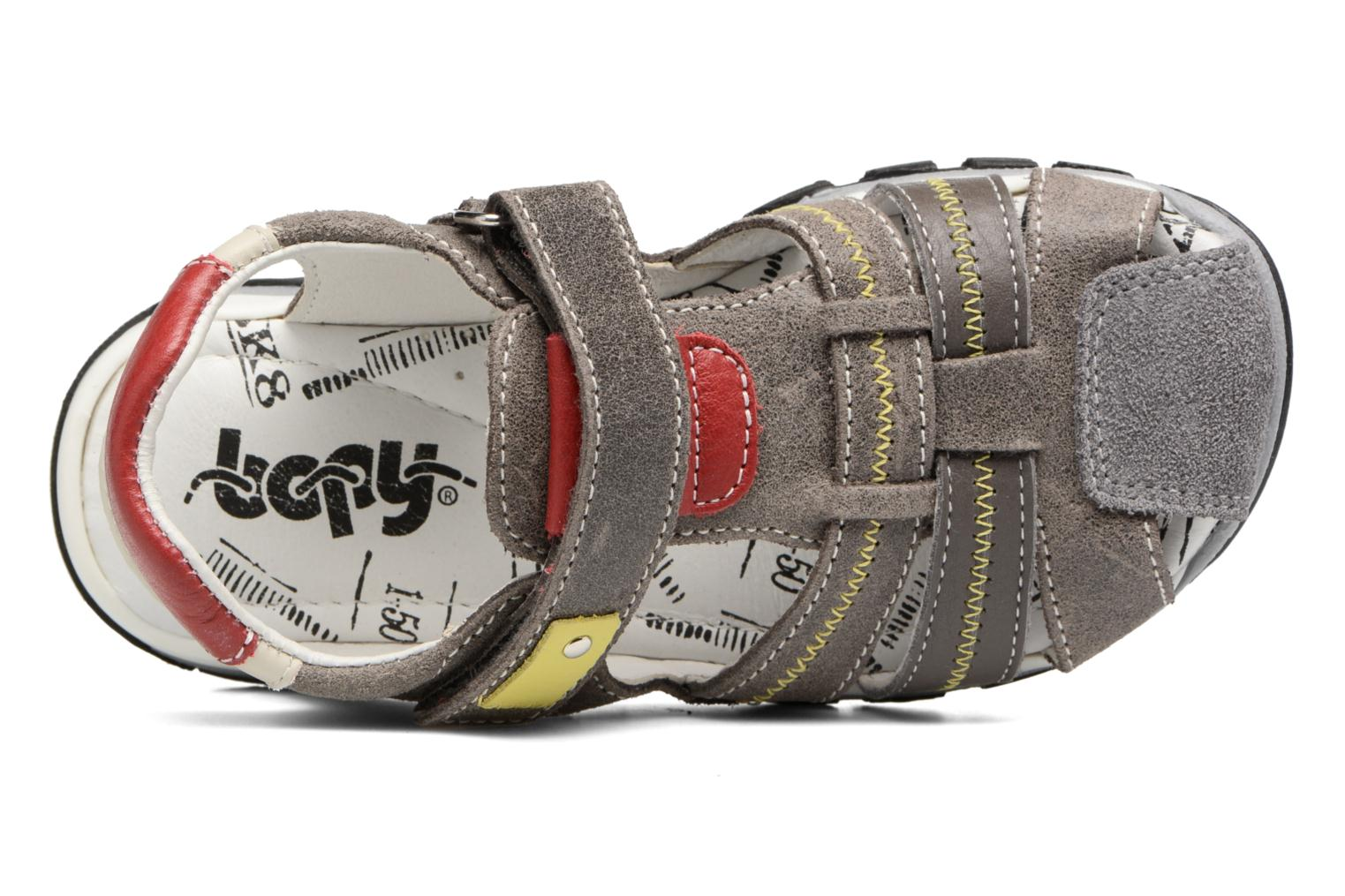 Sandals Bopy Ebriac Grey view from the left