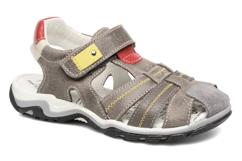 Sandales et nu-pieds Bopy Ebriac Gris vue détail/paire