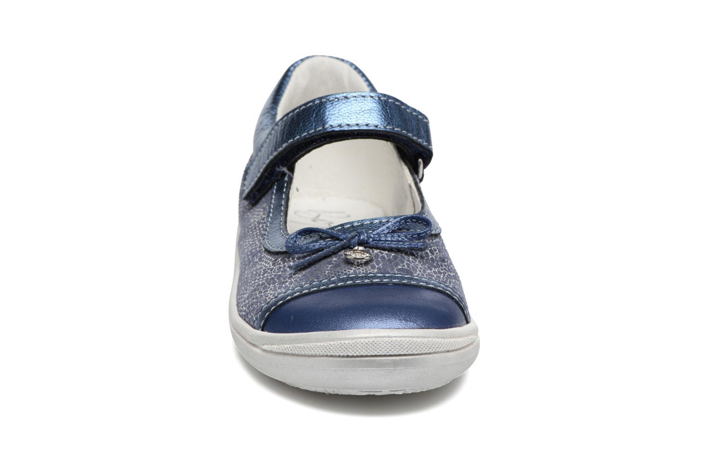 Ballerines Bopy Sevrina Bleu vue portées chaussures