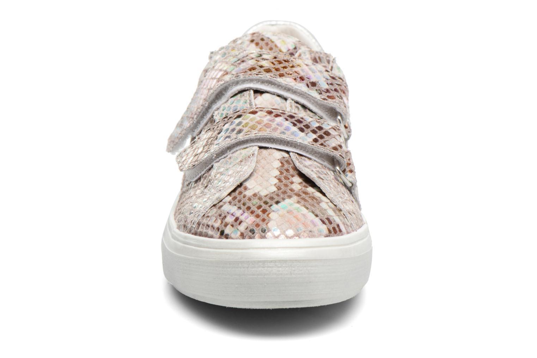 Baskets Bopy Salola Argent vue portées chaussures