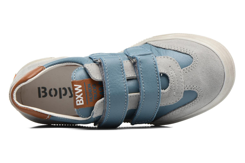 Baskets Bopy Vandy Bleu vue gauche