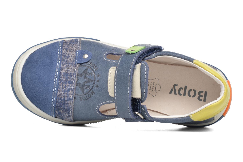 Sneakers Bopy Voba Blauw links