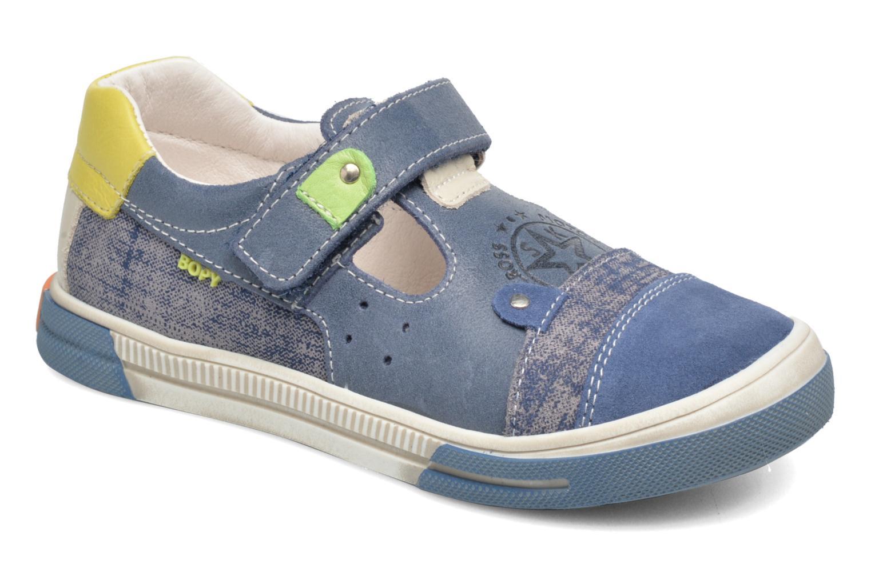 Sneakers Bopy Voba Blauw detail