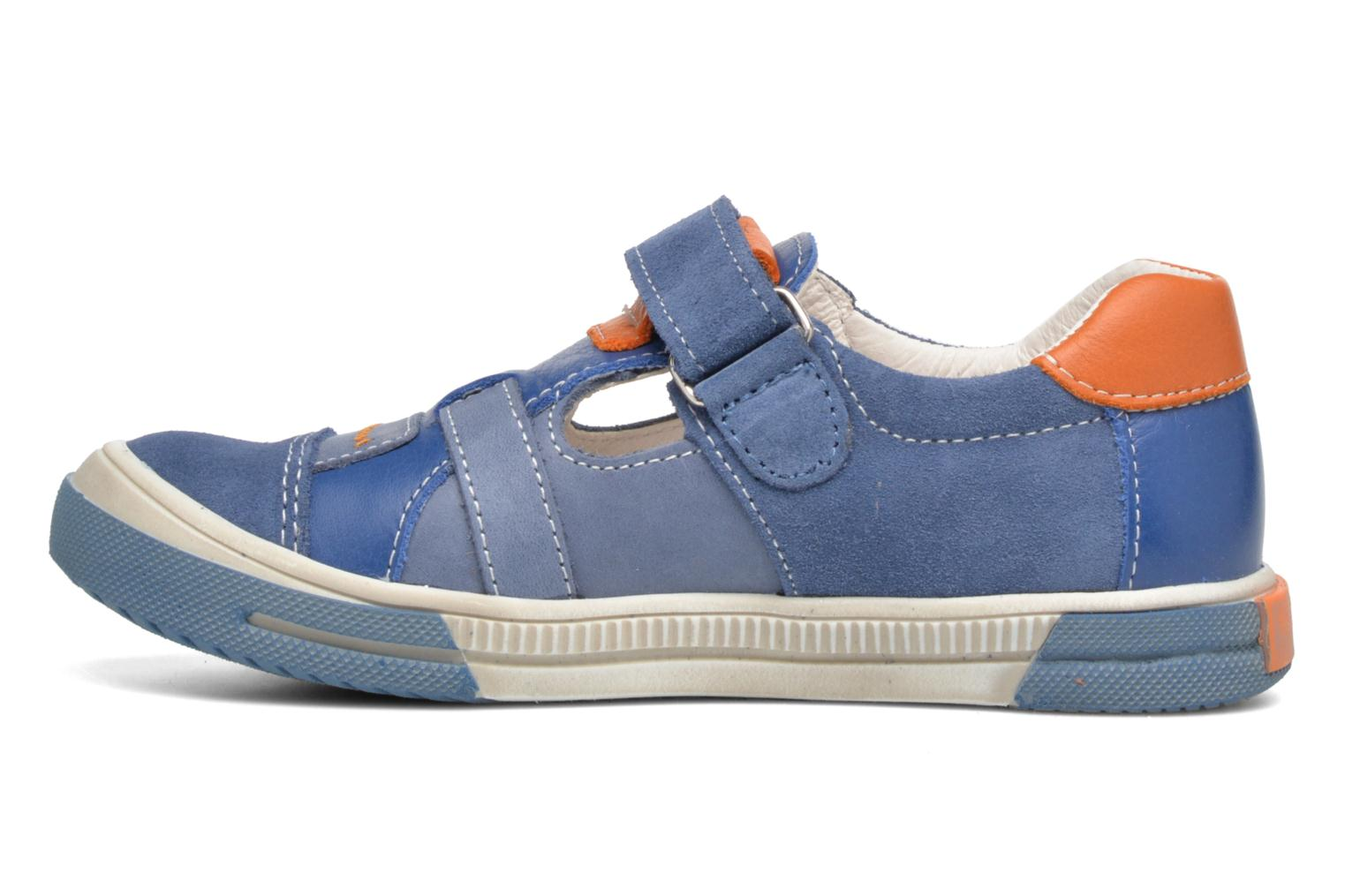 Velcro shoes Bopy Vadiso Blue front view