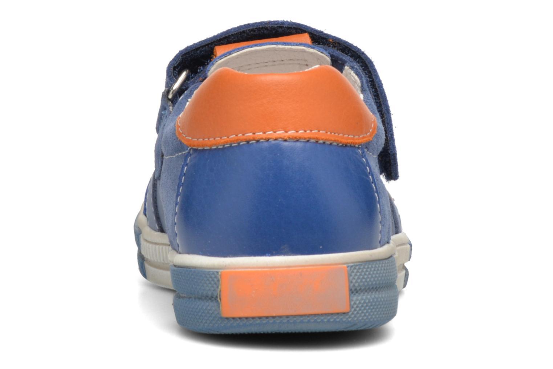 Chaussures à scratch Bopy Vadiso Bleu vue droite