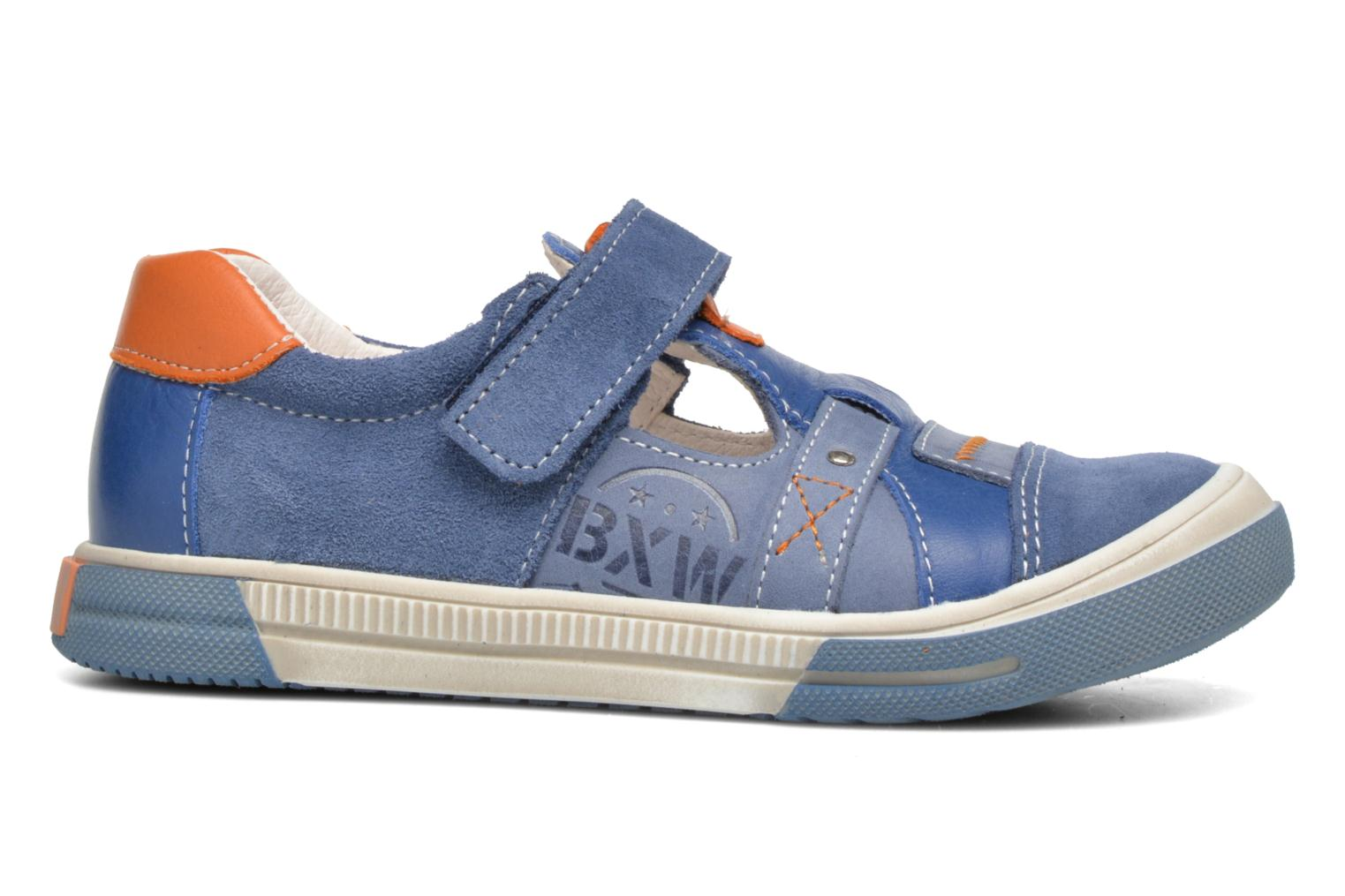 Velcro shoes Bopy Vadiso Blue back view