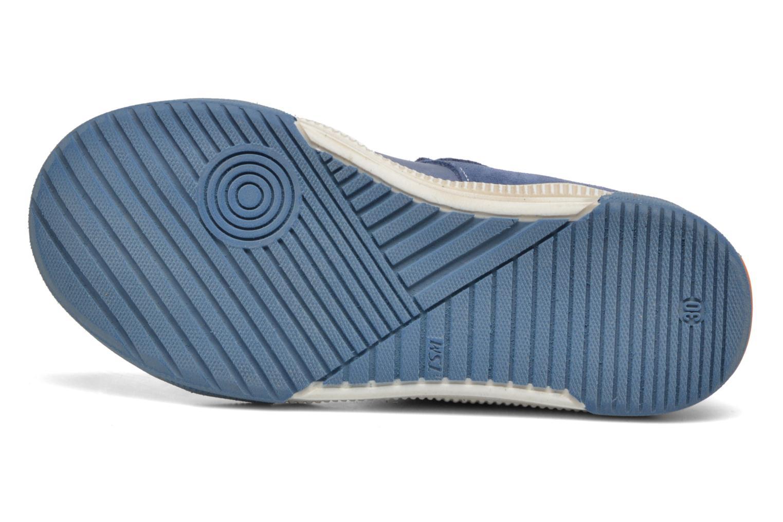 Chaussures à scratch Bopy Vadiso Bleu vue haut