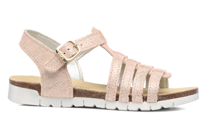 Sandales et nu-pieds Bopy Evali Rose vue derrière
