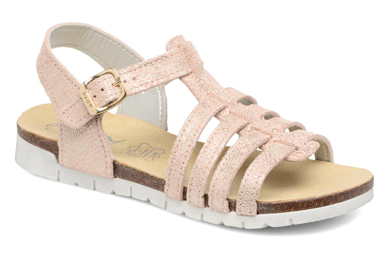 Sandales et nu-pieds Bopy Evali Rose vue détail/paire