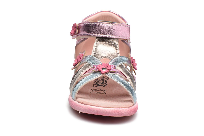 Sandales et nu-pieds Bopy Naxara Kouki Rose vue portées chaussures