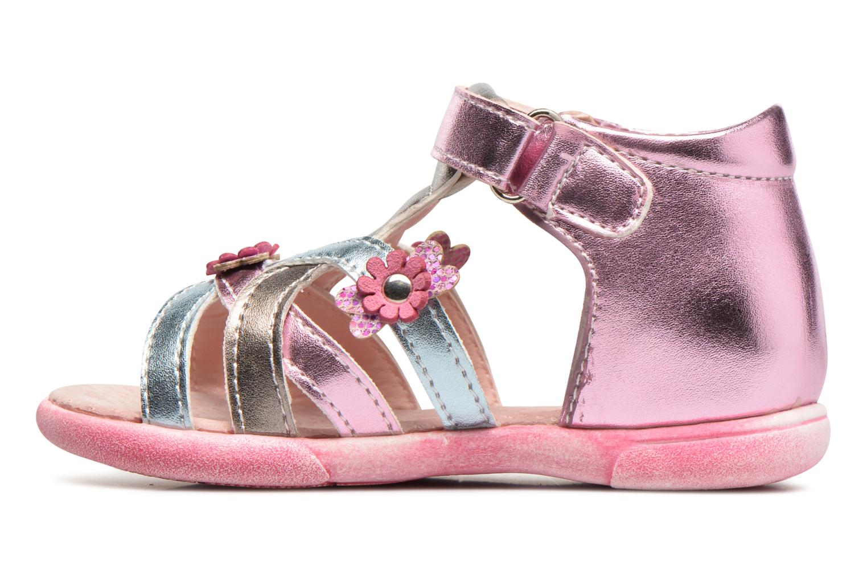 Sandales et nu-pieds Bopy Naxara Kouki Rose vue face