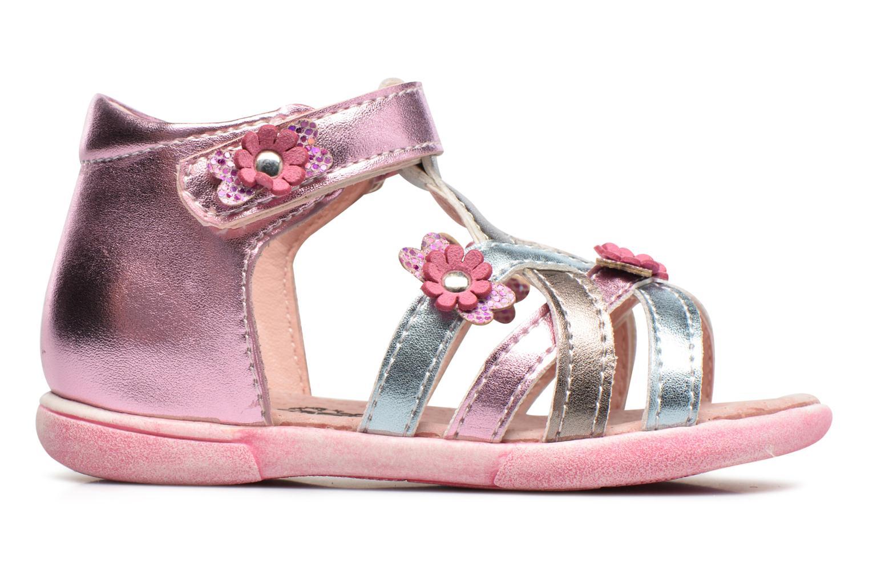 Sandales et nu-pieds Bopy Naxara Kouki Rose vue derrière