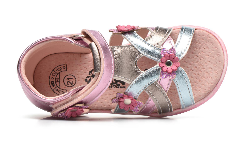 Sandales et nu-pieds Bopy Naxara Kouki Rose vue gauche