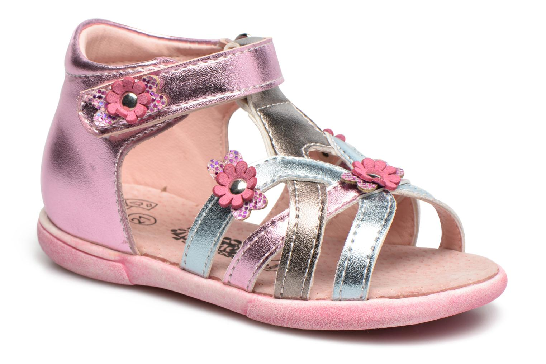 Sandales et nu-pieds Bopy Naxara Kouki Rose vue détail/paire